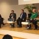 """Werder-Präsident Dr. Hubertus Hess-Grunewald kommt nicht zum ersten Mal ins Emsland. Hier ein Foto aus dem Jahr 2017, wo die Werderfreunde eine Podiumsdiskussion zum Thema """"Profitfussball"""" veranstalteten."""